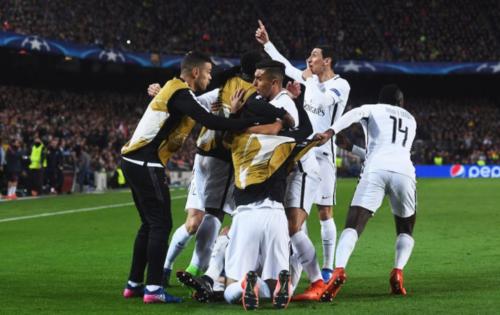 El polémico gesto hecho por el jugador argentino a los fanáticos culés.