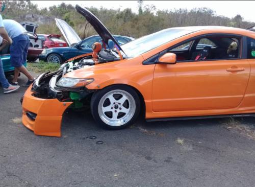 Amantes de este tipo de vehículos lucen las modificaciones que han efectuado. (Foto: Facebook/Antonio Alfaro)