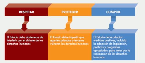 Obligaciones de los Estados en materia de Derechos Humanos, según la ONU.