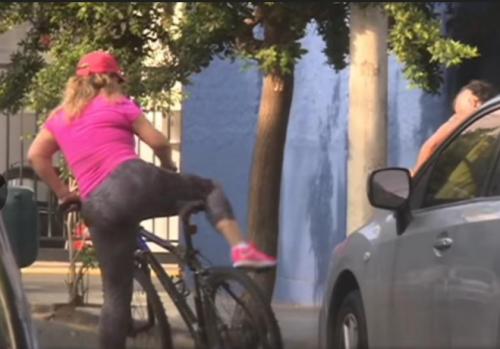 La viceministra también fue captada dando un paseo en bicicleta. (Foto: Perú.com)