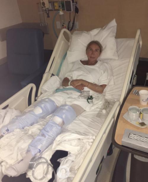 Laura Bozz estuvo al borde de la muerte por una operación mal realizada en Perú. (Foto: twitter)