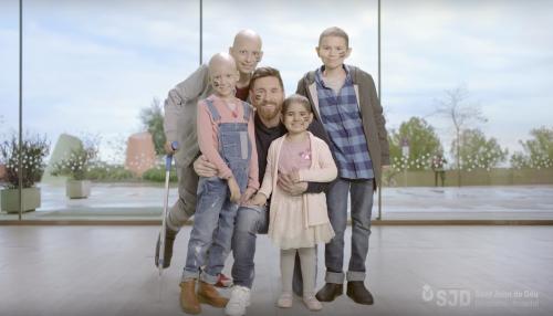 La fundación Leo Messi participa activamente de la campaña #ParaLosValientes que busca construir un hospital que atienda niños con cáncer. (Foto: captura de YouTube)