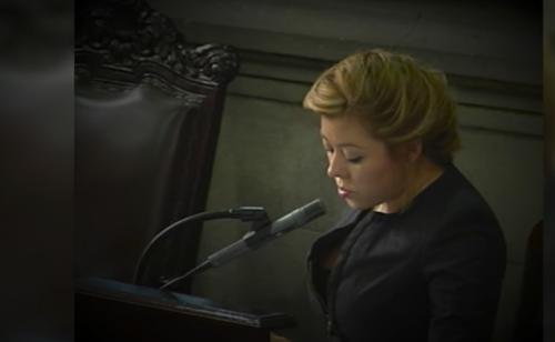 Emilenne Mazariegos era tercera secretaria de la Junta Directiva del Congreso en el momento que se aprobó el préstamo para Odebrecht.