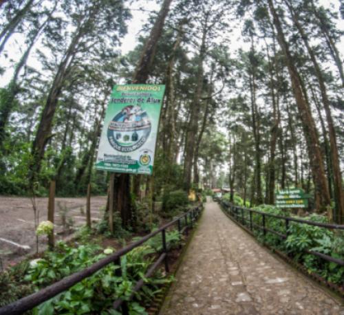 En la Cordillera Alux se encuentra el parque ecológico del mismo nombre. (Foto: Destino Guate)