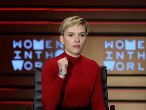 La actriz participó en el Women in the World Summit, una conferencia internacional alrededor de la lucha de las mujeres. (Foto: Cordon Press)