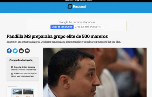 En un reporte de elsalvador.com se revelan los atentados a gran escala que pretendían los pandilleros.