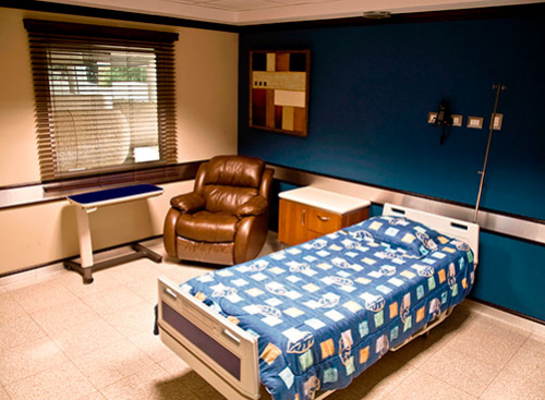 La imagen es con fines ilustrativos y muestra como es una de las habitaciones del Hospital Ambulatorio Multimédica. (Foto: www.multimedica.com.gt)