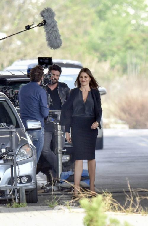 Sofía Vergara graba su próxima película en Roma. (Foto: Mega/The Grosby Group)