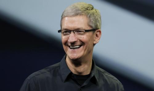 El presidente de la compañía, Tim Cook, expresó su emoción por esta tecnología. (Foto: IBTimes)