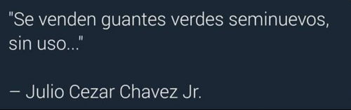 Julio César Chávez Jr. no pegó mucho en la pelea frente a 'el Canelo'. (Foto: Twitter)