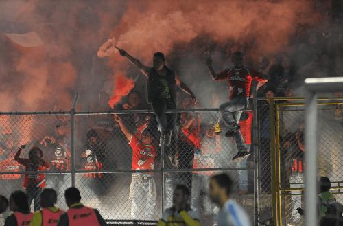 La afición de Quetzaltenango apoyó a su equipo. (Foto: Nuestro Diario)