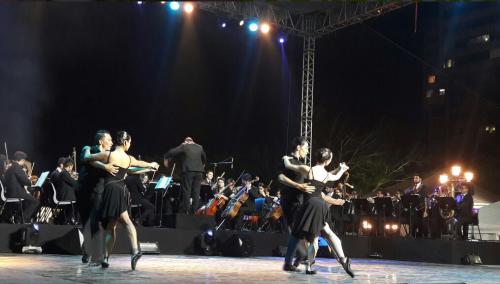 La danza fue protagonista en la Inauguración del Festival Cultural Paseo la Sexta. (Foto: Muniguate)