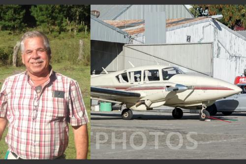 Melquíades Aparicio es el piloto de la aeronave que desapareció. (Foto: archivo/Soy502)