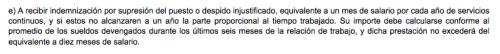 """Esto se resalta en el inciso """"e"""" de la Ley de Servicio Municipal."""