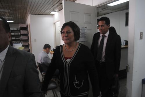 La exparlamentaria de Lider, Mirza Arreaga, aún desconoce si enfrentará juicio por el delito de tráfico de influencias. (Foto: Jesús Alfonso/Soy502)