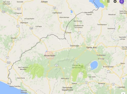 """El paradero de """"La Patrona"""" era cercano al departamento de Jutiapa."""