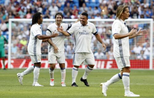 Ronaldo compartió nuevamente con sus excompañeros. (Foto: Twitter)