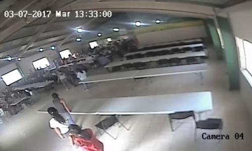 La supuesta pelea en el comedor del Hogar Seguro fue un método de distracción planificados, según la investigación. (Foto: MP)