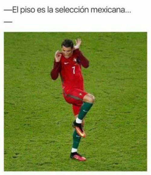 Cristiano Ronaldo no le anotó gol a México.