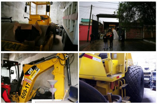 La maquinaria estará bajo el cuidado y administración de la Senabed. (Foto: MP)