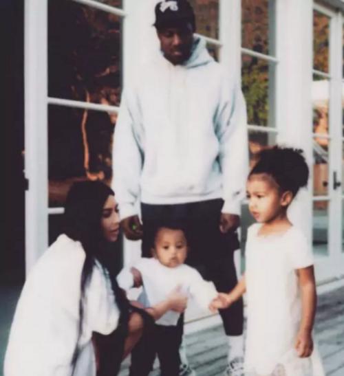 Kim y Kanie tienen dos hijos. (Foto: redes sociales)
