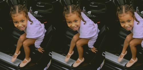 Así luce la primera hija de Kim Kardashian. (Foto: cpatura de pantalla)