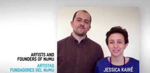 Los fundadores de NuMu son Stefan Benchoam y Jessica Kairé. (Foto: captura de pantalla)