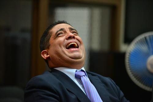 Juan Carlos Monzón, exsecretario privado de Roxana Baldetti, entregó a la CICIG y al MP información que involucra al exbinomio presidencial en un nuevo caso de corrupción. (Foto: Wilder López/Soy502)