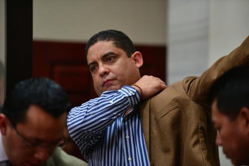 Juan Carlos Monzón Rojas, ex secretario privado de Roxana Baldetti. (Foto: Archivo/Soy502)