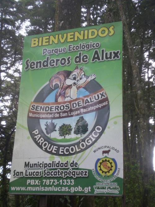 Una visita al parque ecológico Senderos del Alux es una buena opción durante la Semana Santa. (Foto: Facebook/Municipalidad San Lucas Sacatepéquez)