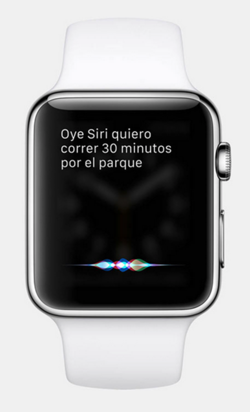Apple Watch 2 permite interactuar con Siri, el asistente de voz de Apple. (Foto: apple.com)