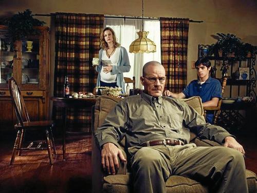 "La familia en ""Breaking Bad"". (Foto: oficial)"