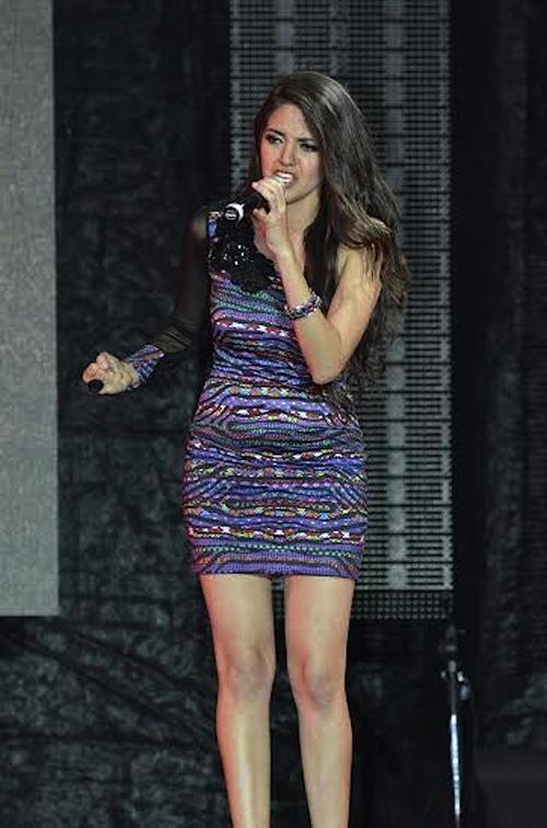 Sofía Peralta recibió el tercer lugar. (Foto: Abner Salguero/Nuestro Diario)