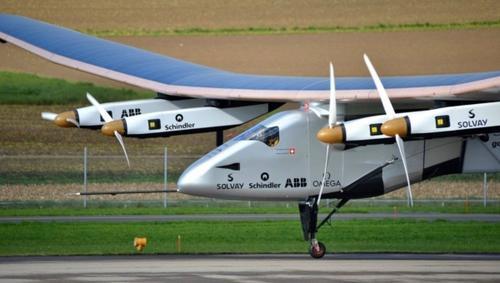 """Se espera que el """"Solar Impulse II"""" continúe su viaje hacia Nueva York, desde donde está previsto que viaje a Europa, el norte de África y Abu Dabi. (Foto: www.nacion.com)"""