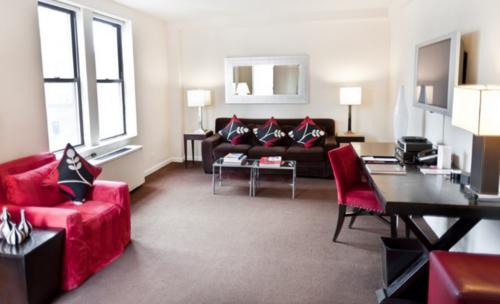 Suite del hotel St. Giles en Nueva York (Foto: Hotel St. Giles)