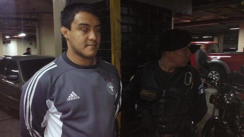 Otto Molina Stalling, hijo de la actual presidenta de la Cámara Penal de la Corte Suprema de Justicia (CSJ), Blanca Stalling, también fue detenido por el caso IGSS. (Foto: Wilder López/Soy502)