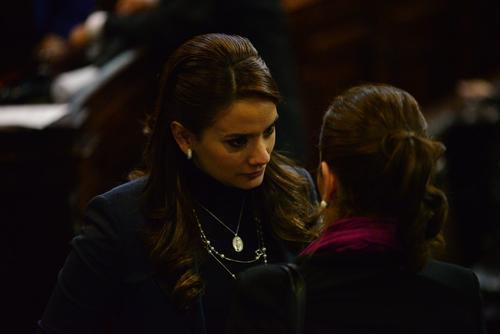 La jefa de la bancada Patriota, Stella Alonzo, ha faltado al 41% de las sesiones. (Foto: Archivo/Soy502)