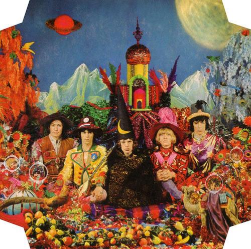"""""""Their Satanic Majesties Request"""" es una de las portadas producidas por Michael Cooper. (Imagen: Album Their Satanic Majesties Request)"""