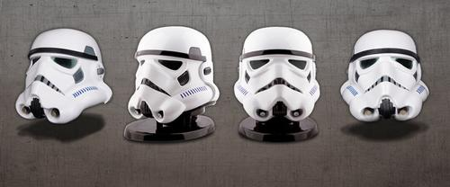 Comparación de Stormtroopers de la película, cuyos detalles resultan ser idénticos. (Foto: kickstarter.com)