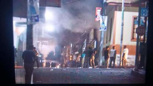 Los vecinos reportaron los incidentes en Suchitepéquez.  (Foto: Maria Contreras/Twitter)