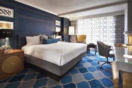 Suite del hotel Embassy Row donde se hospedó Jimmy Morales (Foto: Hotel Embassy Row)