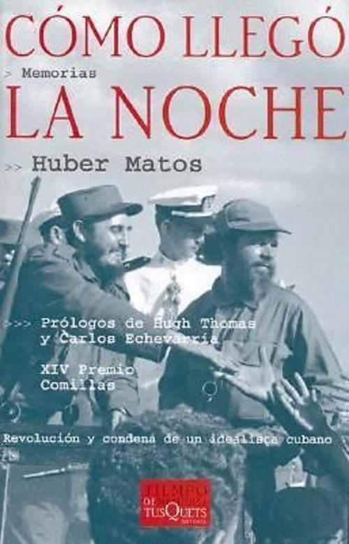 Portada del libro escrito por Huber Matos. (Foto:Internet)