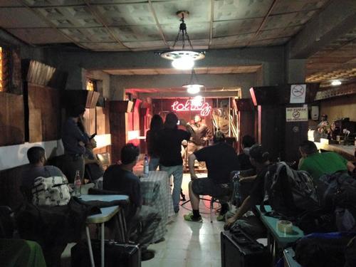 """Rebeca Lane, durante la grabación del video """"Tal Vez"""" de Malacates. (Foto: Frame and Beat)"""
