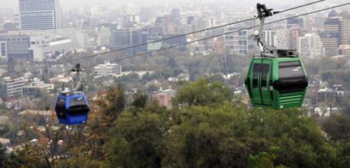 Ilustración de las góndolas del teleférico de Santiago. (Foto: GondolaProject)