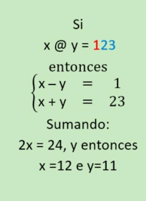 Para resolverlo es necesario usar un sistema de dos ecuaciones y dos incógnitas.