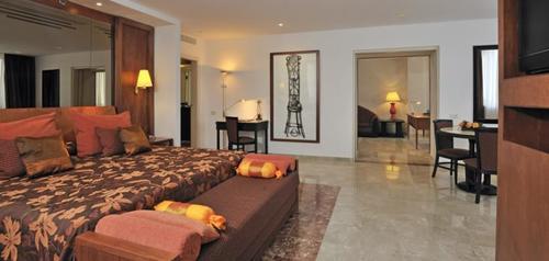 La master suite del hotel Melía Cohiba en Cuba. El viaje fue patrocinado por el gobierno de ese país. (Foto: Hoteles Melía)