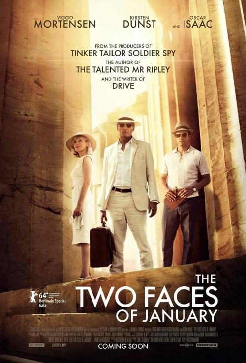 """Este es el último film de Oscar Isaac """"The two faces of January"""" en donde comparte créditos con Kirsten Dunst. Se estrenará en mayo de este 2014."""