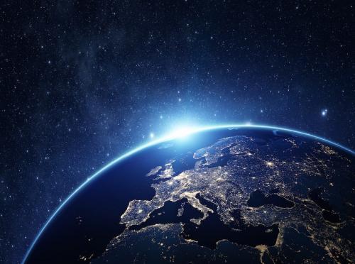 Así lucen las ciudades de noche desde el espacio. (Foto: NASA)
