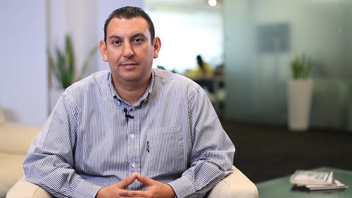 Marvin Martínez trabaja hace 16 años en la empresa. (Foto: Soy502)