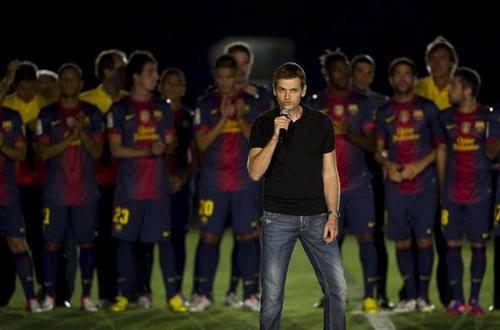 Tito Vilanova ocupó el puesto de Pep Guardiola, cuando este dejó al equipo. (Foto: Mundodeportivo.com)